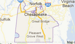 Chesapeake Virginia Map Houses
